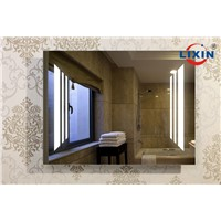High End Touch Switch Bathroom Mirror with Demister Pad