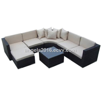 Modern Luxury Patio Furniture Rattan Sofa Set