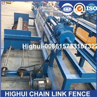 China 3m Width Double Wire Full Automatic Chain Link Fence Machine