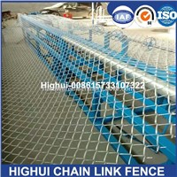 China 2m-4m Width Double Wire Feeding Fully Automatic Chain Link Fence Machine for Fence