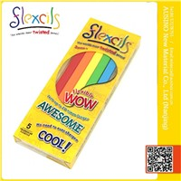 FLEXCILS- the Worlds most Twisted, Bendable Color Pencils