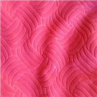 Polar Fleece Factory Embossed Polar Fleece Fabric