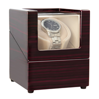[New Version] CHIYODA Wood Handmade Inserted Pillow Automatic Single Watch Winder