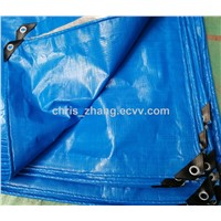 120g/M2 Blue Color, 4x5m PE Tarpaulin