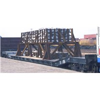 D11 Depressed Center Flat Car Load Capacity 40t