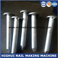 China High Speed 1 Inch to 3 Inch Carbon Steel Nail Making Machine