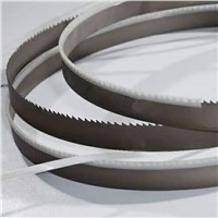 Band Sawing Solid Steel Bar Cutting M42 Material Full Teeth Type Bi Metal Band Saw Blade