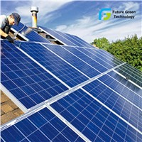 80W Home Cheap Polycrystalline Solar Power System Solar Panel