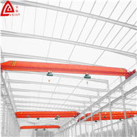 Industry Used 2tons Light Duty Overhead Crane with Electric Hoist