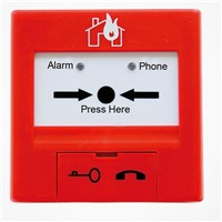TCSB5204H Digital Manual Call Point Alarm Button Compatible with Our Addressable Fire Alarm System