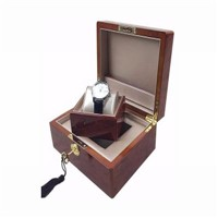 Pinsidea High Gloss Wooden Watch Box
