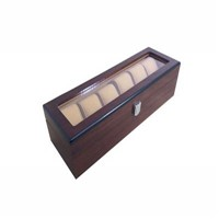Pinsidea Wooden Watch Box with Window