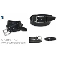 Men's Stitching Embossed PU Belt