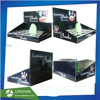 OEM/ODM Foldable Cardboard Countertop Display, Carton Box, PDQ