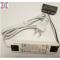 13mm 15W12V Constant Voltage Super Thin LED Power Supply / LED Driver