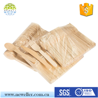 China Supplier FDA Standard Eco Friendly Wooden Cutlery for Promotion