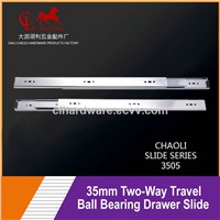 35mm Two-Way Travel Drawer Slide