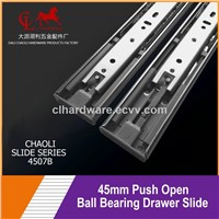 45mm Push Open Drawer Slide for Drawer Parts