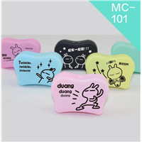 New Design Mutiple Color Available Unique Contact Lens Case, Container for Lenses