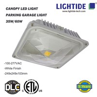 LED Canopy Lights/Parking Garage Light, 100-277V AC, 60W, DLC 4.2