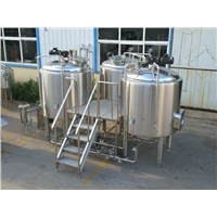 CE PED LVD Certificate 1000L Micro Brewery Equipment