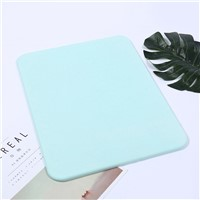 Japanese Diatom Mud Mat Bathroom Creative Natural Green Diatom Mud