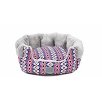 Rural Style Soft Warmth Kennel the Dog Mat the Cat Litter Semi Washable Type Pet Nest