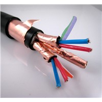 DJYVPR Copper Core PE Insulated PVC Sheathed Copper Wire Braid Overall Shielding Cables