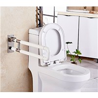 IBAMA 28-Inches Flip up Toilet Safety Frame Rail Bathroom Grab Bar for Home & Hotel(Stainless Steel)