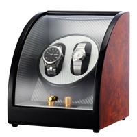 CHIYODA Automatic Daul Watch Winder with Quiet Japanese Motor