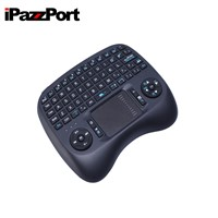 IPazzPort Wireless Keyboard Backlit Touchpad Mouse Keyboard for Computer /Android TV /HTPC