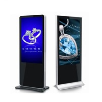 42 Inch Fhd Floor Stand Indoor Advertising LCD Digital Display with Android System, PC All In One Screen