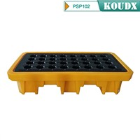 KOUDX Poly or Steel Spill Pallet