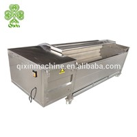Industrial Commercial Automatic Air Bubble Brush Fruit & Vegetable Potato Carrot Berry Washing & Cleaning Machine