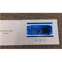 4.3'' LCD Invitation Video Greeting Card for Gifts & Promotion, with Video Recording & Logo Imprint