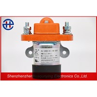 Wholesales Supplier 100a 48v Single Coil Normally Closed Low Voltage Electromagnetic DC Contactor for Battery Vehicles