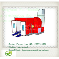 HY-LB900 Large Bus Spray Booth
