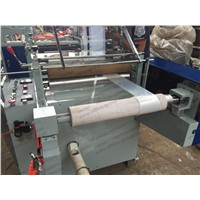 Plastic LDPE PP BOPP Side Sealing Bread Bag Making Machine Price for Handle Bag