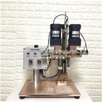 Semi-Automatic Capping Machine for Plastic Metal Screw Cap Sealing Machine for the Round Bottle