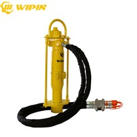 Portable Mini Hydraulic Press Static Pile Driver Hydraulic Ground Rod Drivers