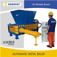 UK Enerpat Hydraulic UBC Metal Baling Machine with CE Approvals