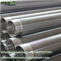China Supplier 304 Stainless Steel Water Well Johnson Type Screens for Water Well Drilling Forages