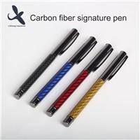 Real 3K Carbon Fiber Gel Pen High Grade Signature Pen