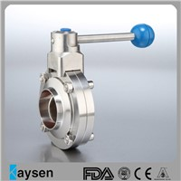 Hygienic Butterfly Valves Weld End