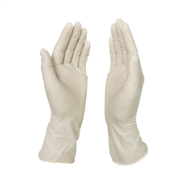 Medical Examination Gloves Disposable Medical Glove Surgical White Exam Gloves Latex Powder Free  Latex Strong Stretchy