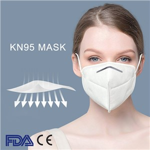 Disposable Surgical Face KN95 Disposable Face Mask Respirator Mask Safety Medical Comfortable with Filter