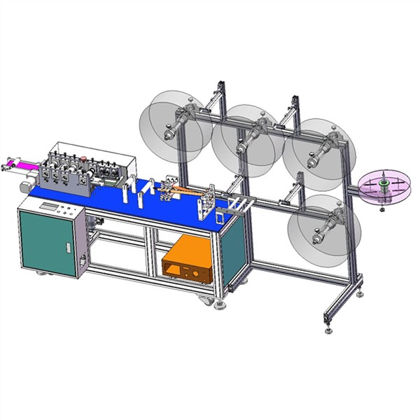 Full Automatic Laser Adult Medical Mask Making Machine Auto Disposable Surgical Face Mask Production Line