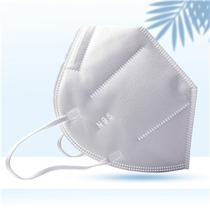 Disposable Medical Mask N95 FFP2 Surgical Respirator Face Mask Earloop Antiviral with CE FDA Certification