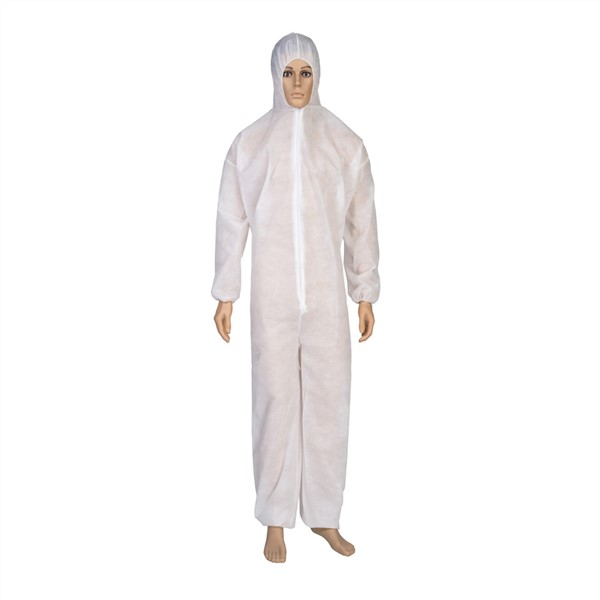 Medical Protective Clothing Safety Disposable Suit Isolation Hooded Coverall Protective Hospital Medical Health Apparel