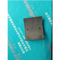 Front brake friction pad